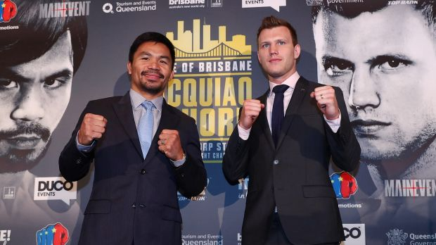 Manny Pacquiao and Jeff Horn image - Fairfax