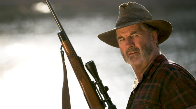John Jarratt reprising his iconic role as the outback apex predator Mick Taylor.  Image - Stan