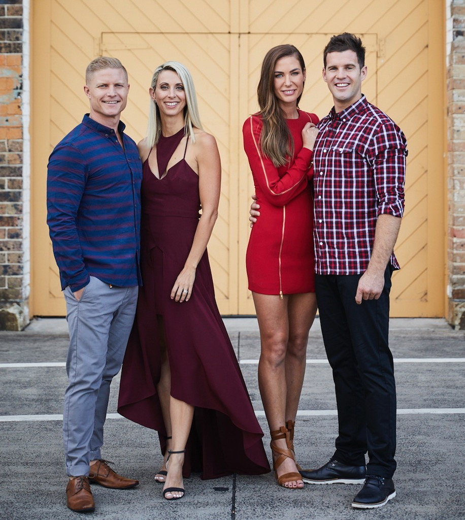 SA's Harry and Kate will compete against QLD's Daniella and Aaron image - supplied/Seven