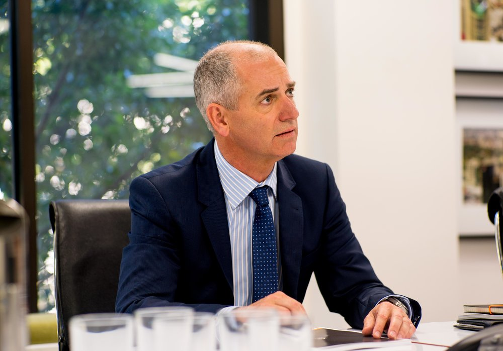 Rob Sitch - Tony (Utopia)  Image - ABC