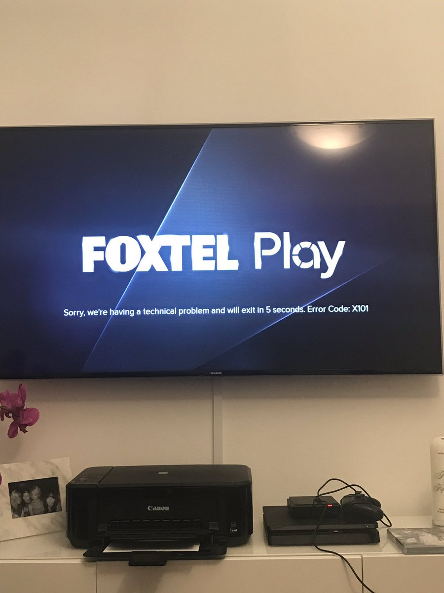 One of the many customers unable to access their Foxtel streaming service. Image source - Twitter