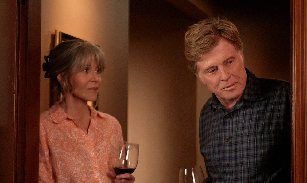 Jane Fonda and Robert Redford Image - Netflix