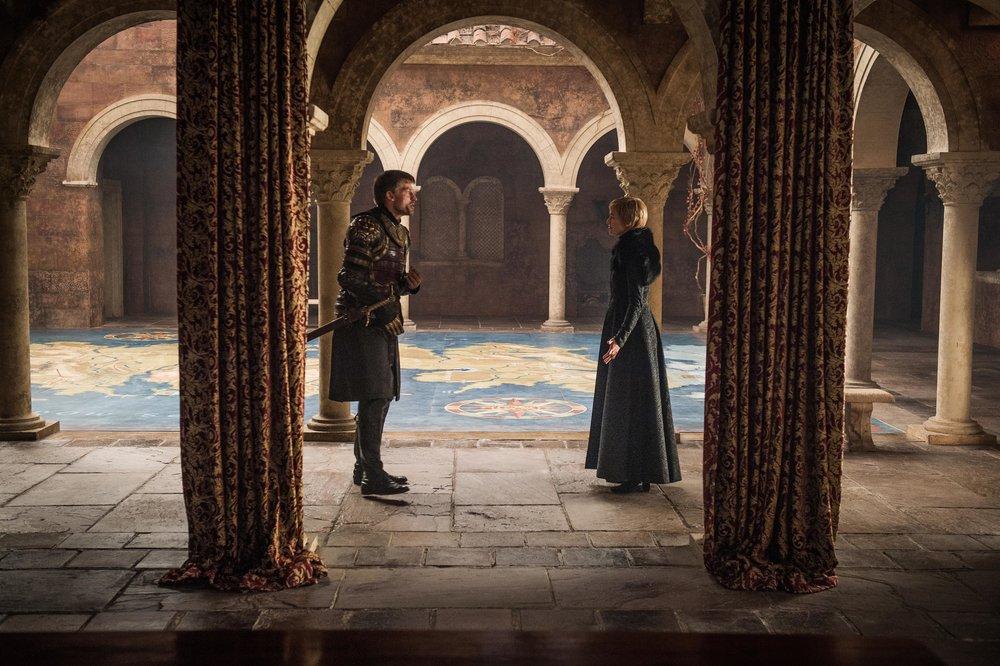 Jamie (Nikolaj Coster-Waldau) & Cersei Lannister (Lena Heady) Image - HBO