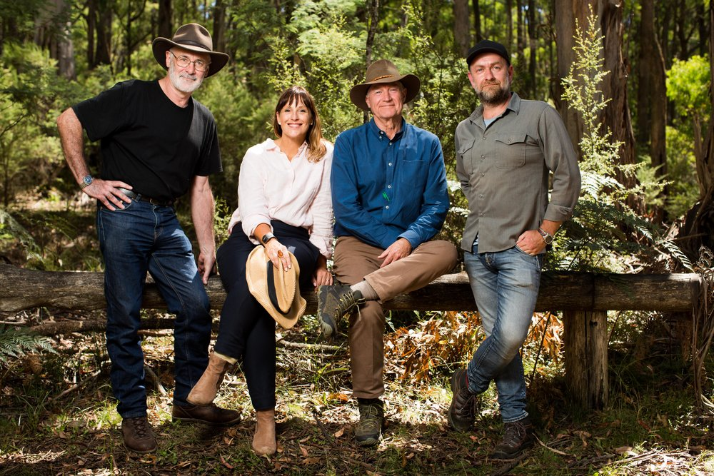 Mike Munro & the LAWLESS team Image - Foxtel