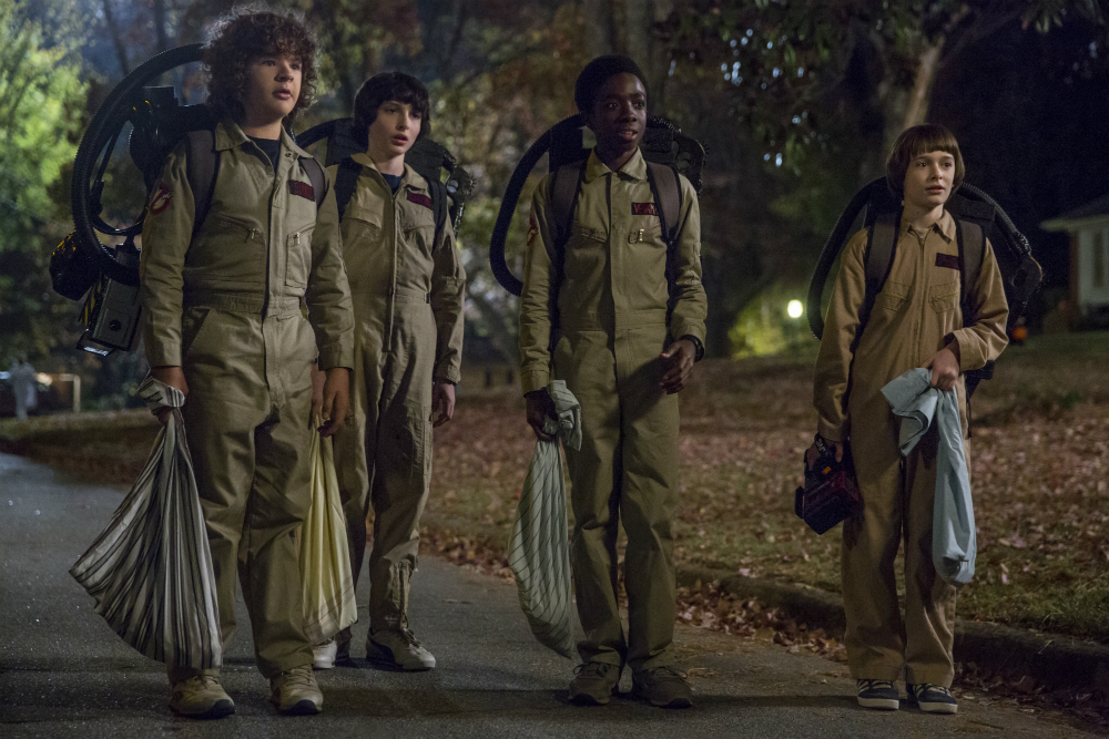 Dustin, Mike, Lucas & Will  Image - Netflix