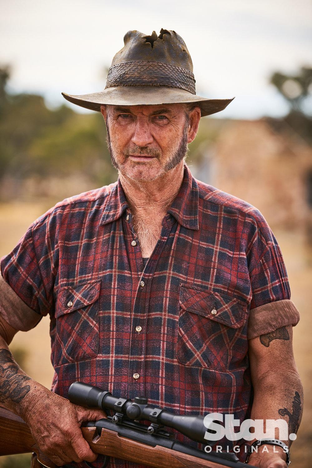 John Jarratt returns as Mick Taylor  Image - Stan