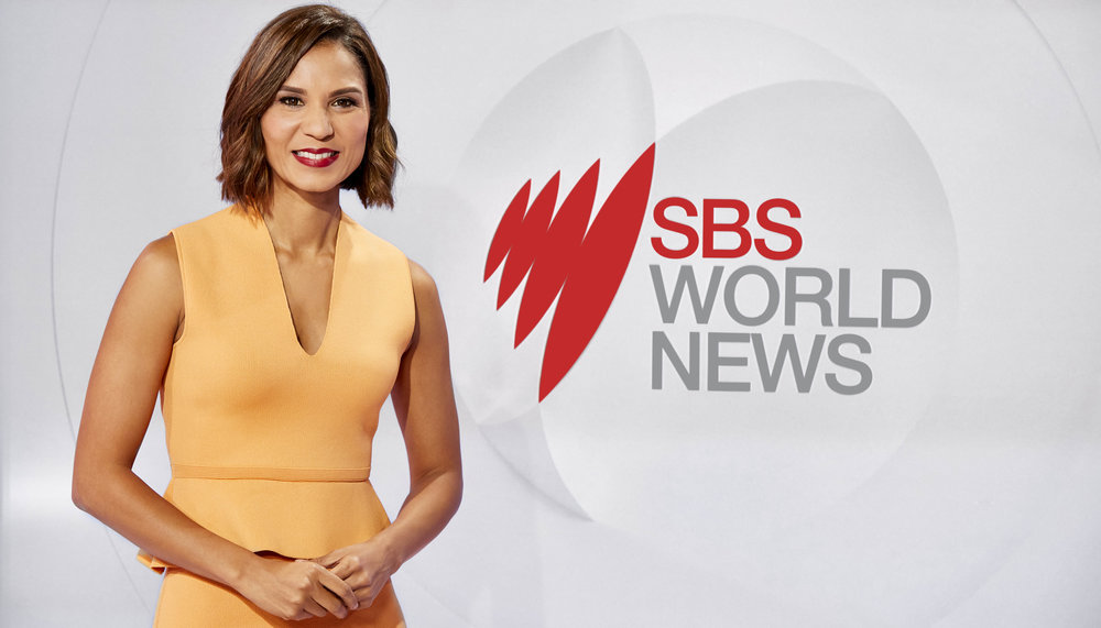 Janice Petersen hosts SBS World News  Image - SBS