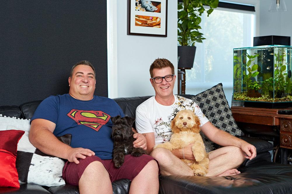 Wayne & Tom star in Gogglebox Australia  Image - Foxtel