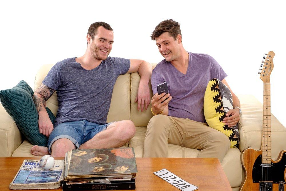 Darren & Ben  Image - Nine