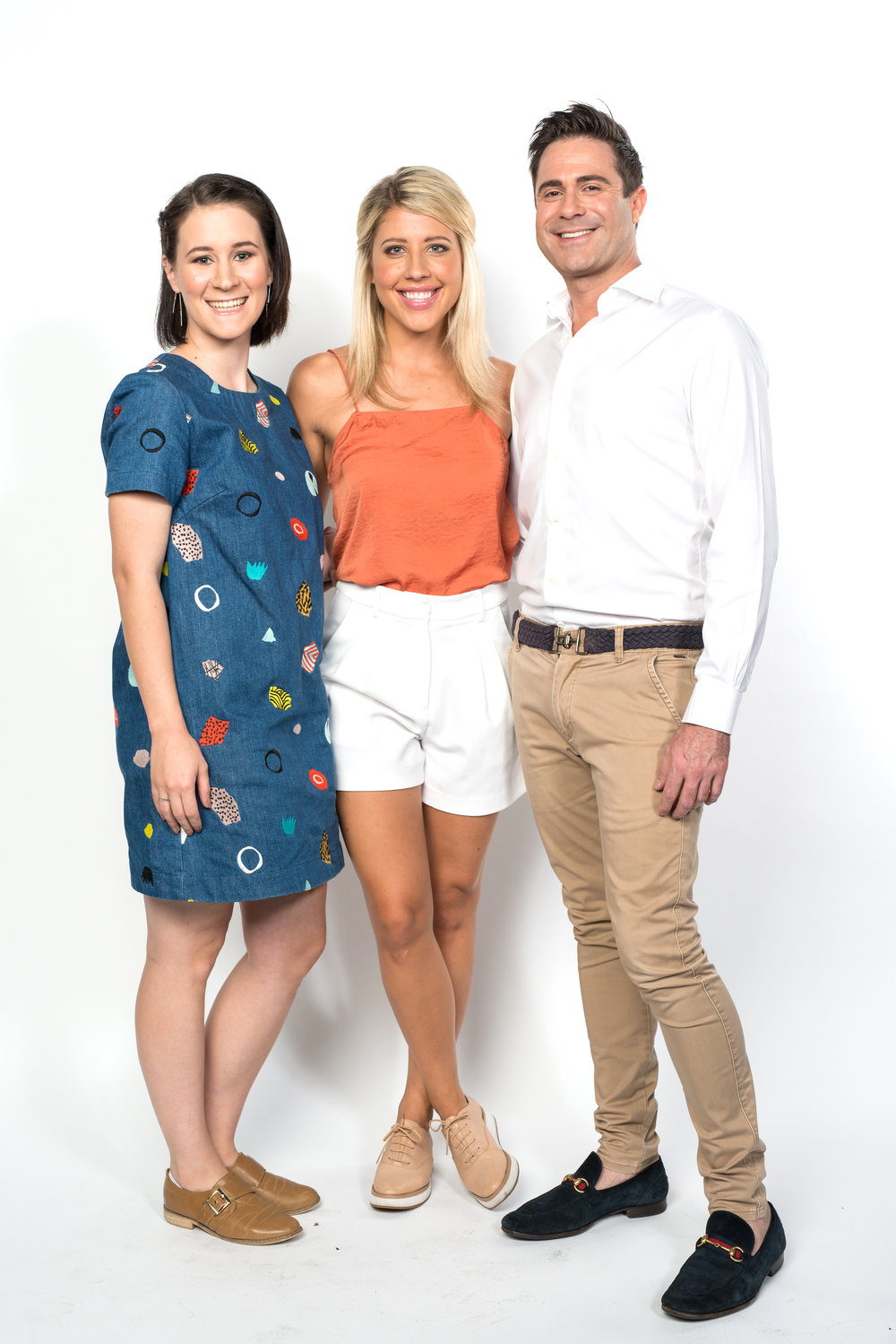 Clare, Kellyn & Michael  Image - Nine