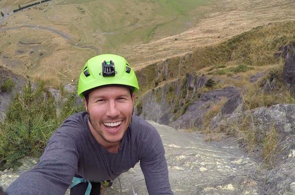 Getaway presenter Jason Dundas  Image - Nine