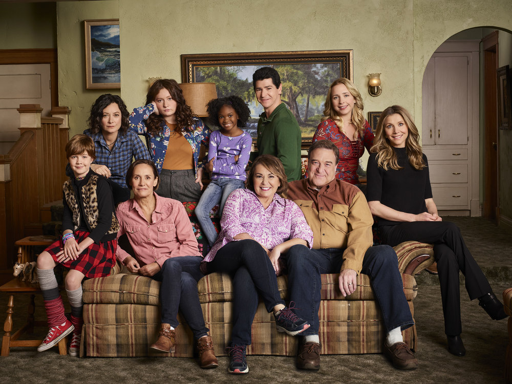 The cast of Roseanne 2018  Image - Ten