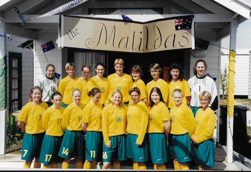 Matildas in 1990s  Image - ABC