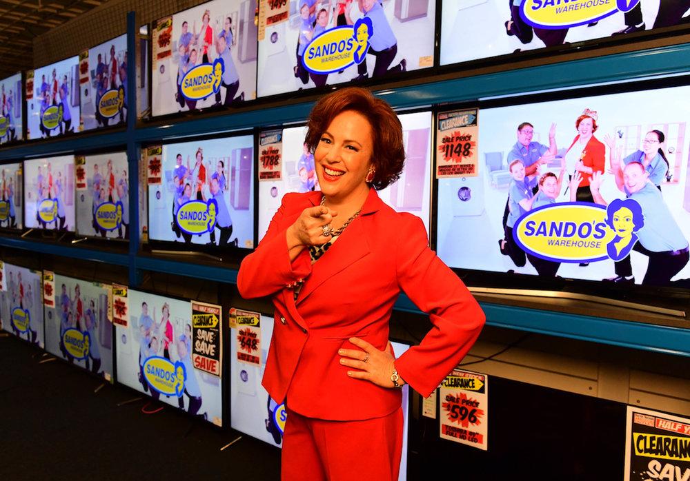 Sacha Horler is Sando  Image - ABC