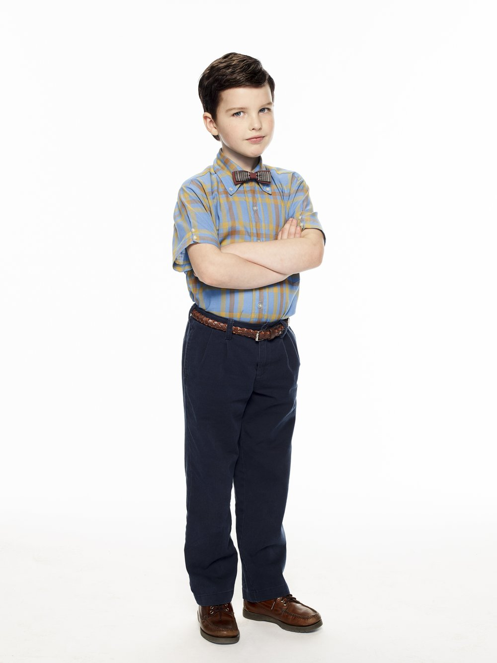 Iain Armitage is Young Sheldon  Image - Nine