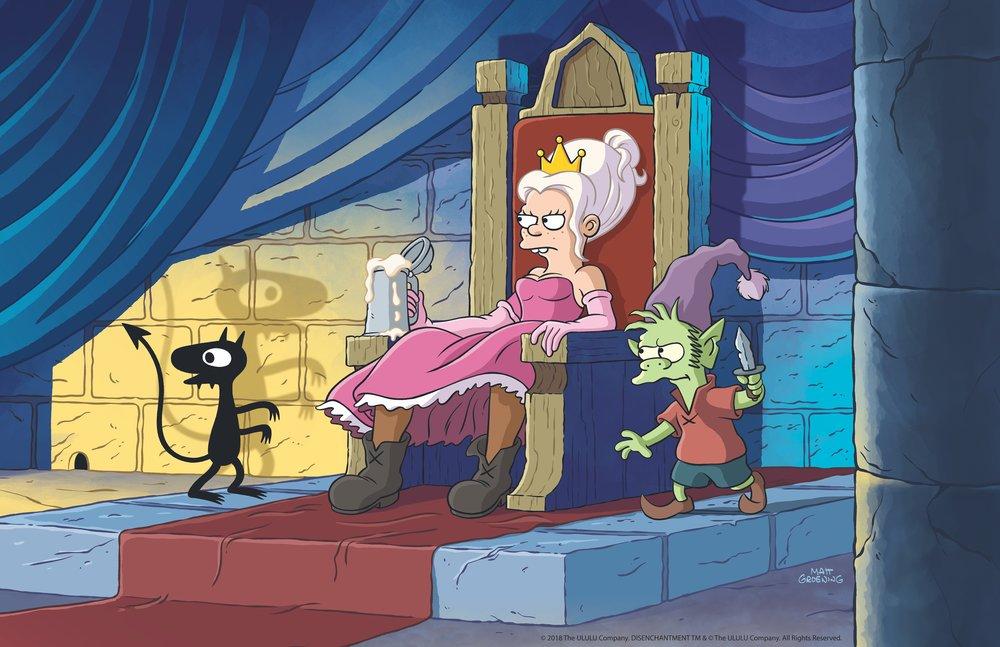 Luci, Bean & Elfo - Disenchantment  Image - Netflix