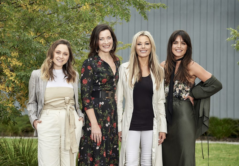 Cece Peters, Annie Maynard, Madeleine West, Olympia Valance  Image - Ten