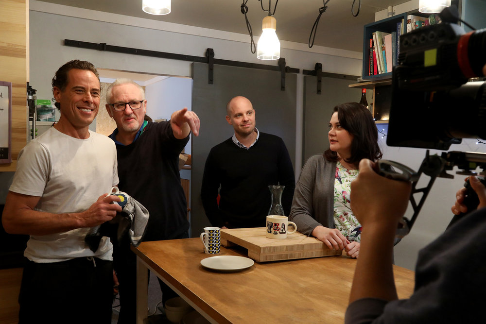 Marcus Graham, James Bogle, Warren Clarke, Shari Sebbens  Image - ABC