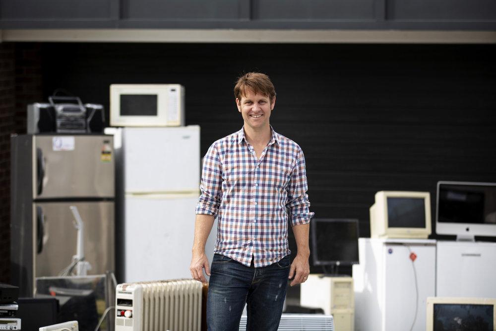 War On Waste host Craig Reucassel  Image - ABC