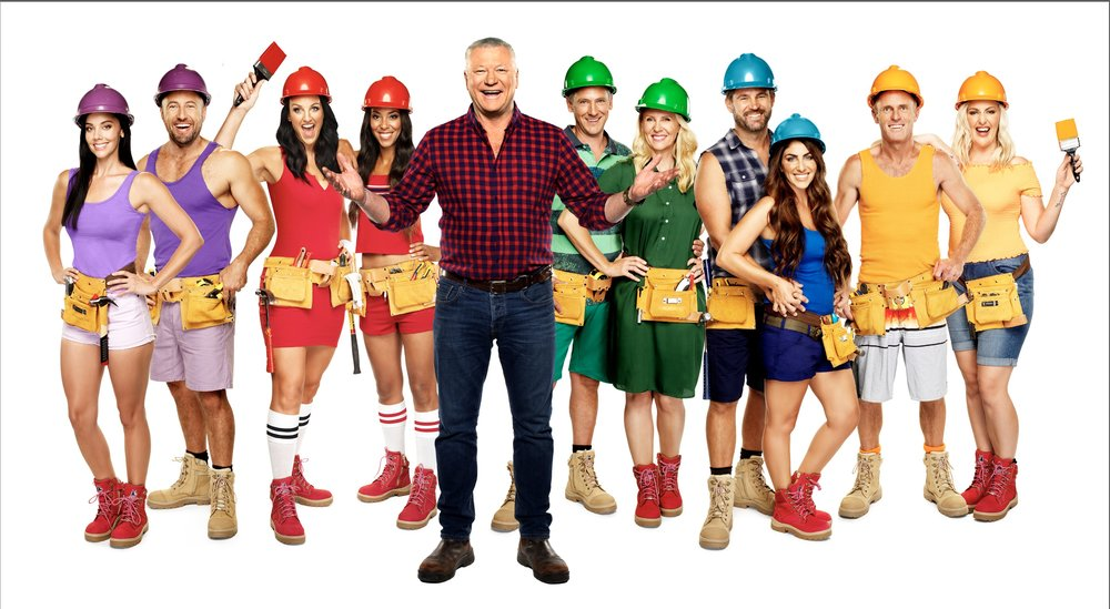 THE BLOCK contestants for 2018, with Scott Cam  Image - Nine