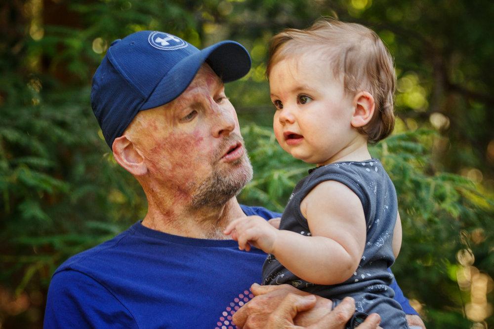 Matt & his daughter  Image - ABC