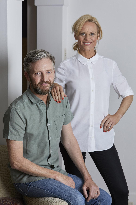 Stephen Curry and Nadine Garner  image - TEN