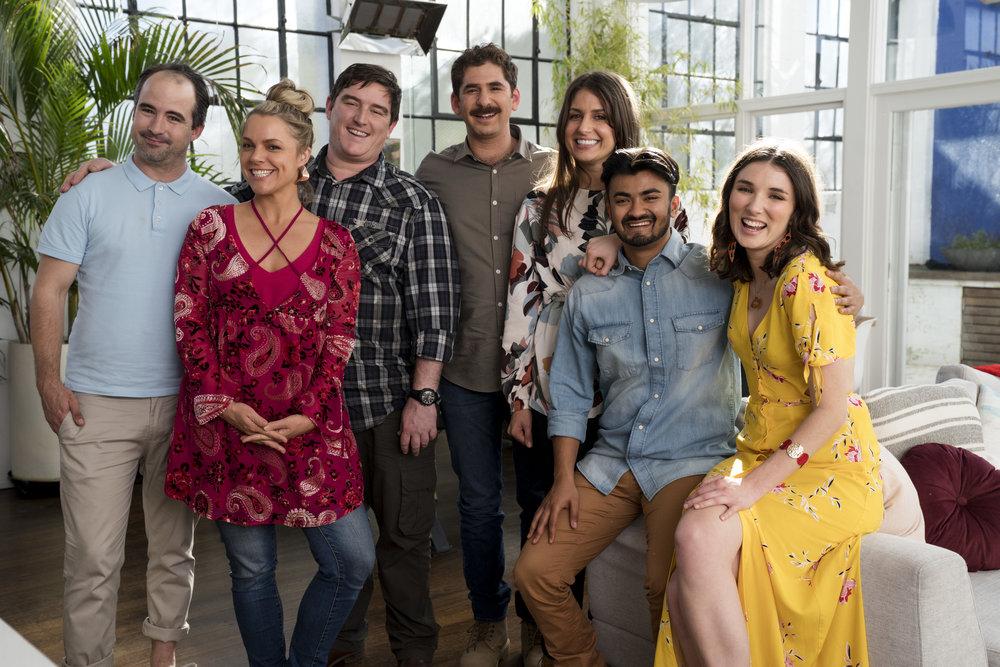The cast of Skit Happens  Image - TEN
