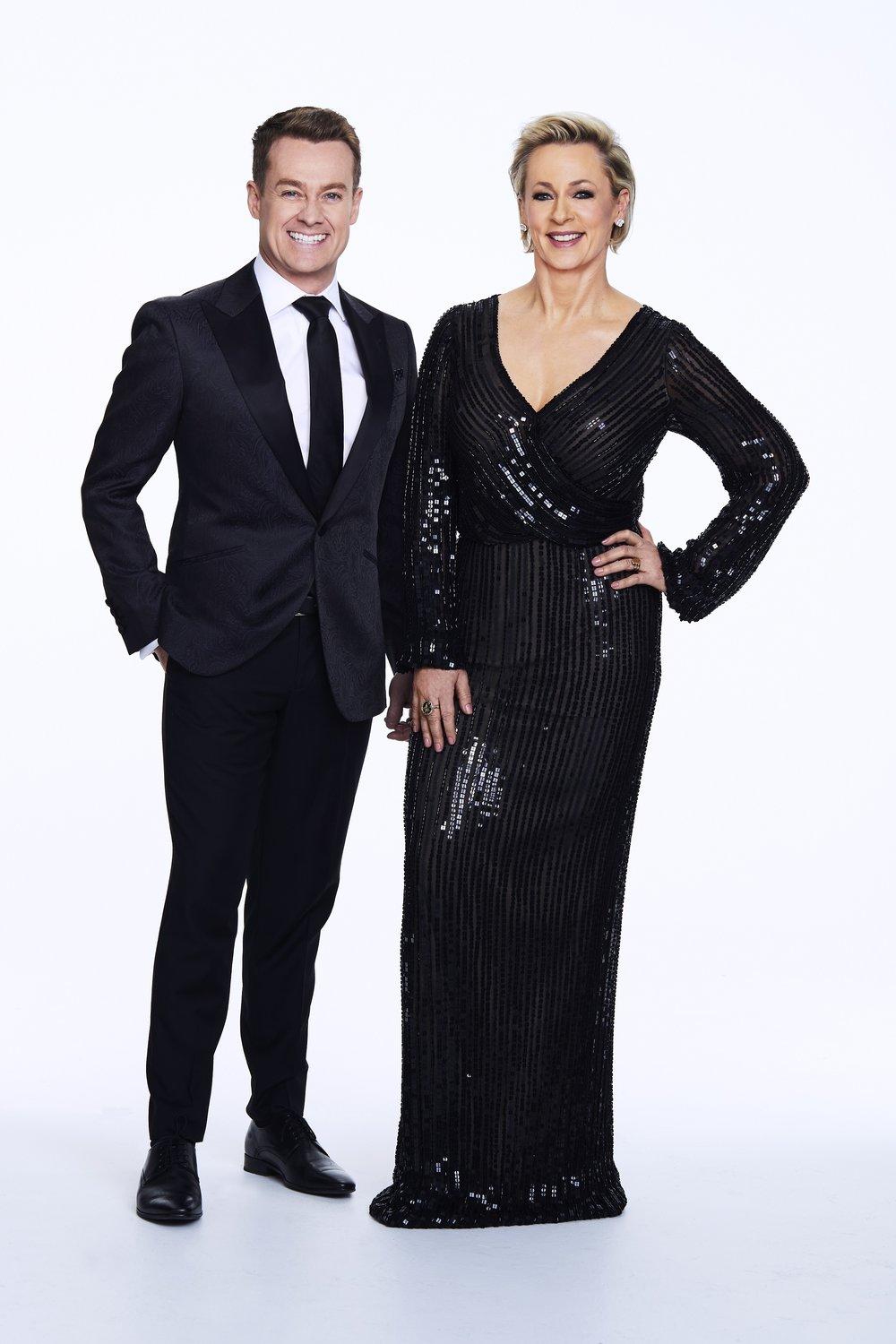 Grant Denyer and Amanda Keller will host DANCING WITH THE STARS on Ten in 2019  Image - Ten
