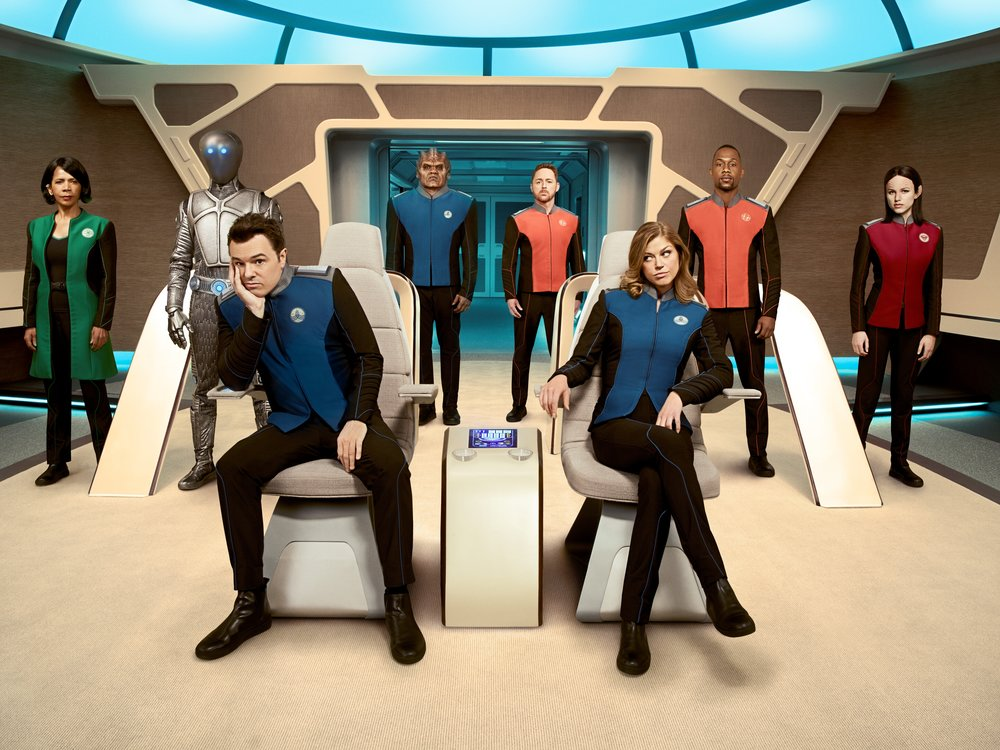 The cast of The Orville  Image - SBS