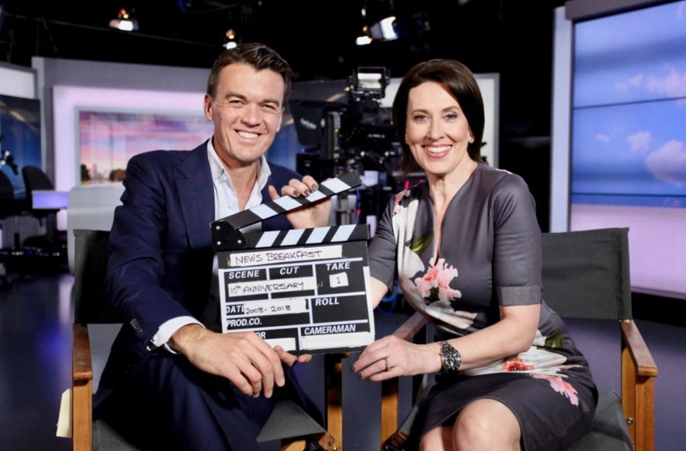 Michael Rowland and Virginia Trioli  image - ABC