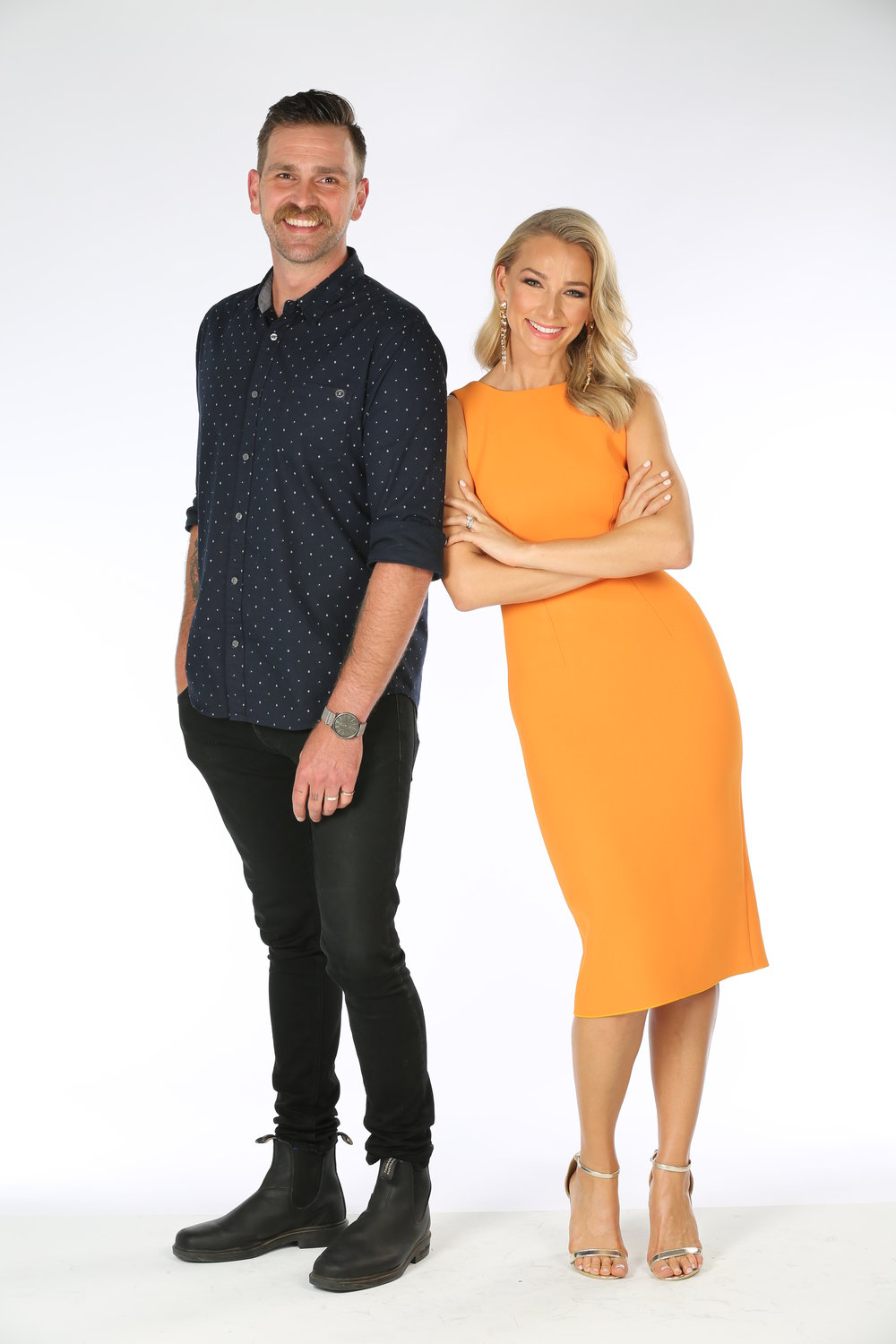Harley Breen (Taboo) and Anna Heinrich (Trial by Kyle)  Image - 10