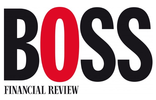 The logo for AFR BOSS, owned by Fairfax Media
