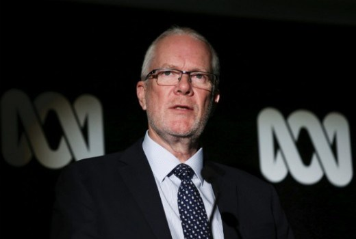 Former ABC Chairman Justin Milne  Image - ABC
