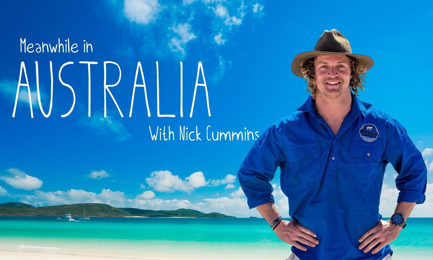 AIRDATE | MEANWHILE IN AUSTRALIA with Nick Cummins