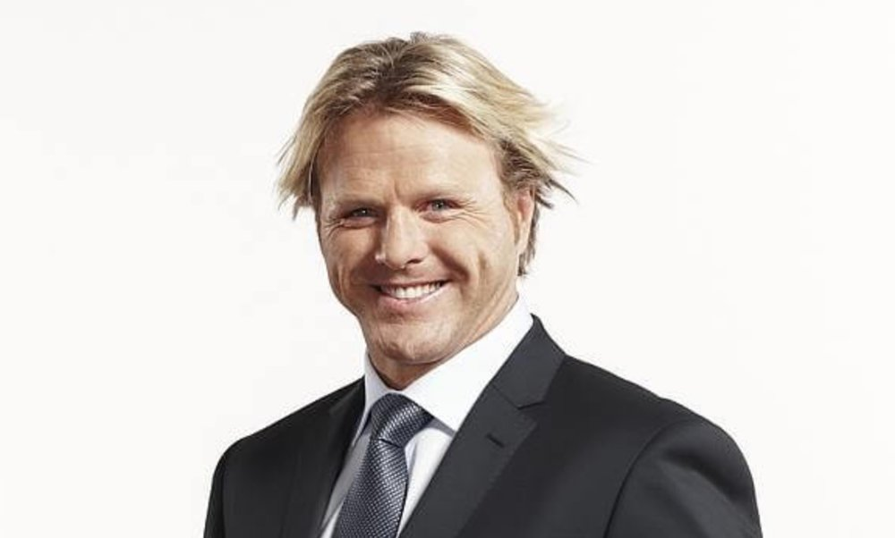Dermott Brereton -  He might be a champion footballer and a snappy dresser, but he is lousy at keeping secrets. The Fox Footy presenter appears to have told half of Melbourne to lock him in.