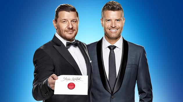 Manu Feildel and Pete Evans  image - SEVEN