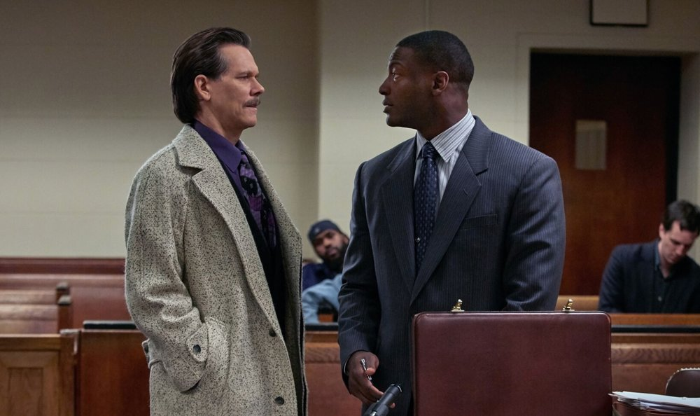 Kevin Bacon and  Aldis Hodge   image - STAN