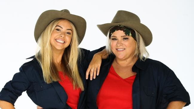 Angie & Yvie left GOGGLEBOX AUSTRALIA for I'M A CELEBRITY…GET ME OUT OF HERE?!    PHOTO: Channel 10
