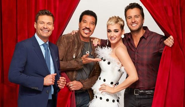 Ryan Seacrest, Lionel Richie, Katy Perry, and Luke Bryan  image - American Idol