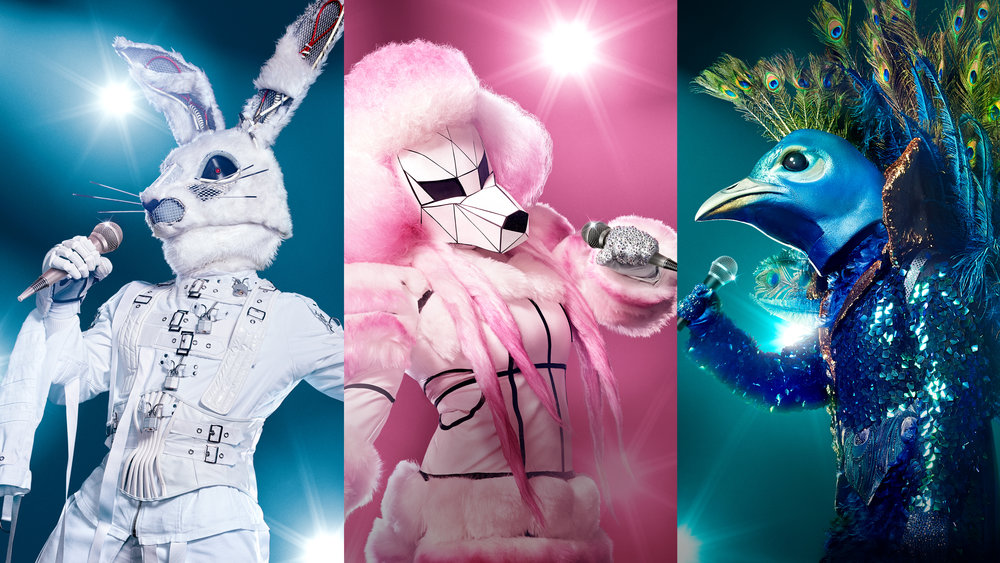 Some of the impressive costumes from the US version of The Masked Singer  images - FOX