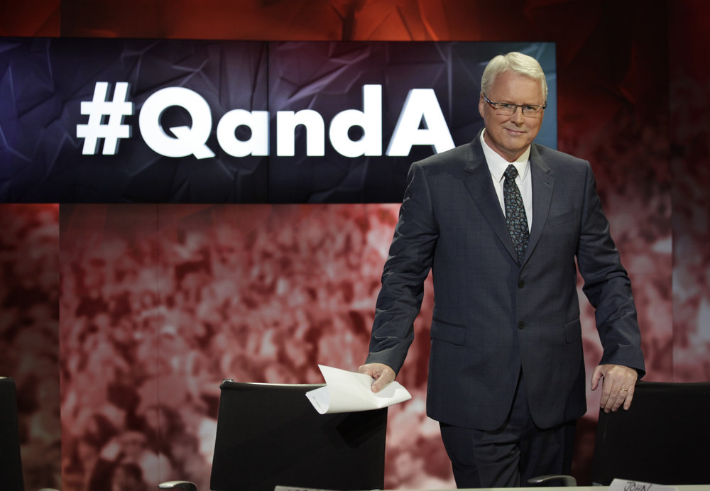 Q&A with Tony Jones Source: ABC