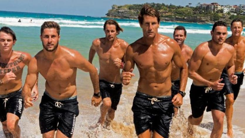 Bondi Rescue Source: Adelaide Now