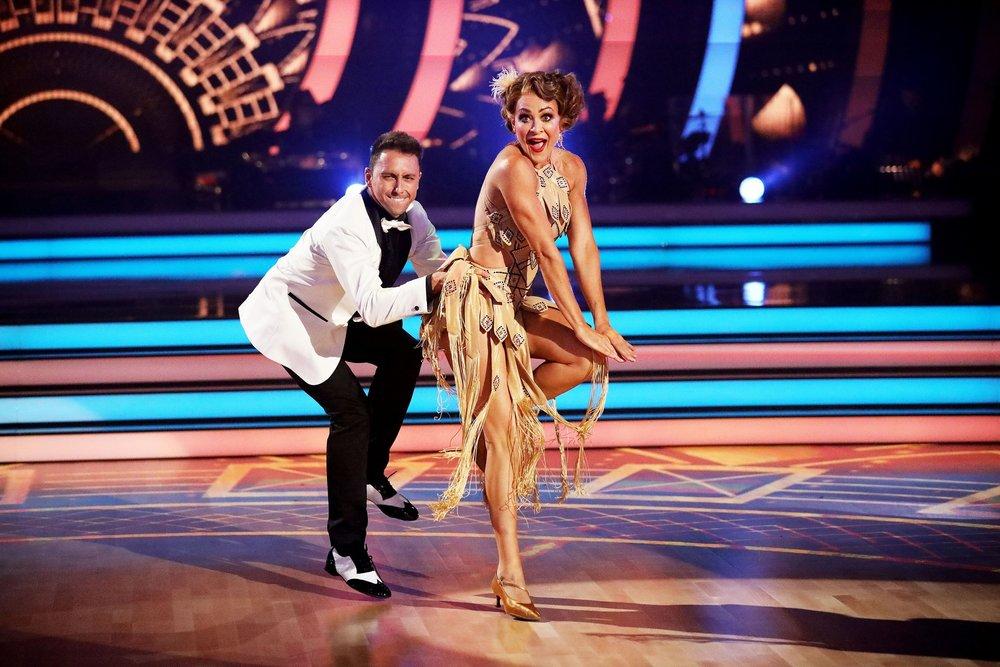 Michelle Bridges with dance partner Aric  image - 10
