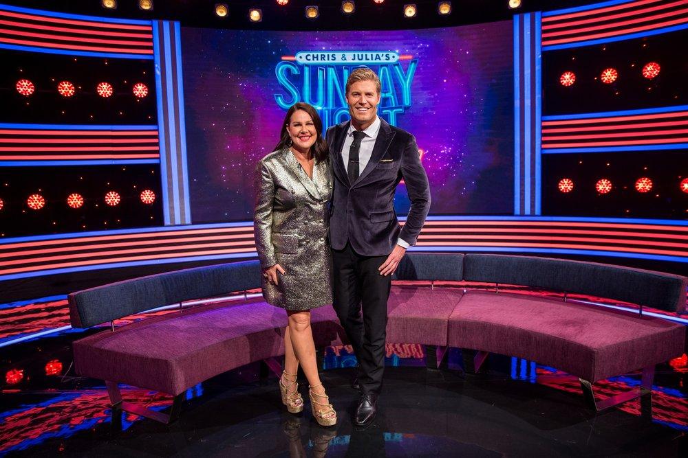 Chris & Julia's Sunday Night Takeaway  Source: 10 Network