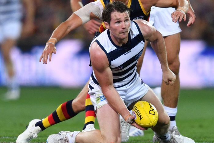 Patrick Dangerfield  image copyright - AAP