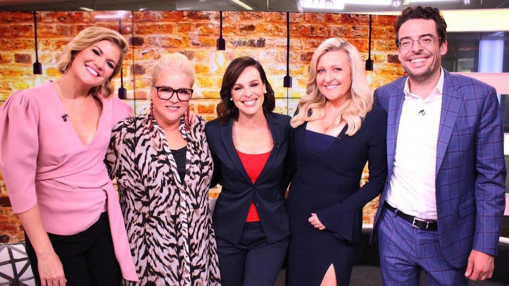 The cast of Studio 10   PHOTO: 10