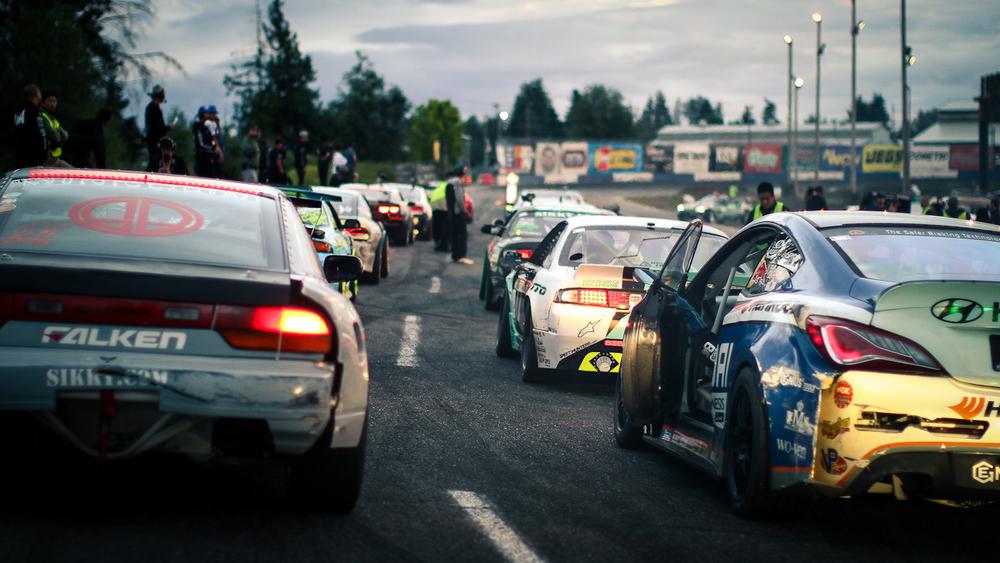 Formula Drift 2012 - Round 5 - Evergreen Speedway