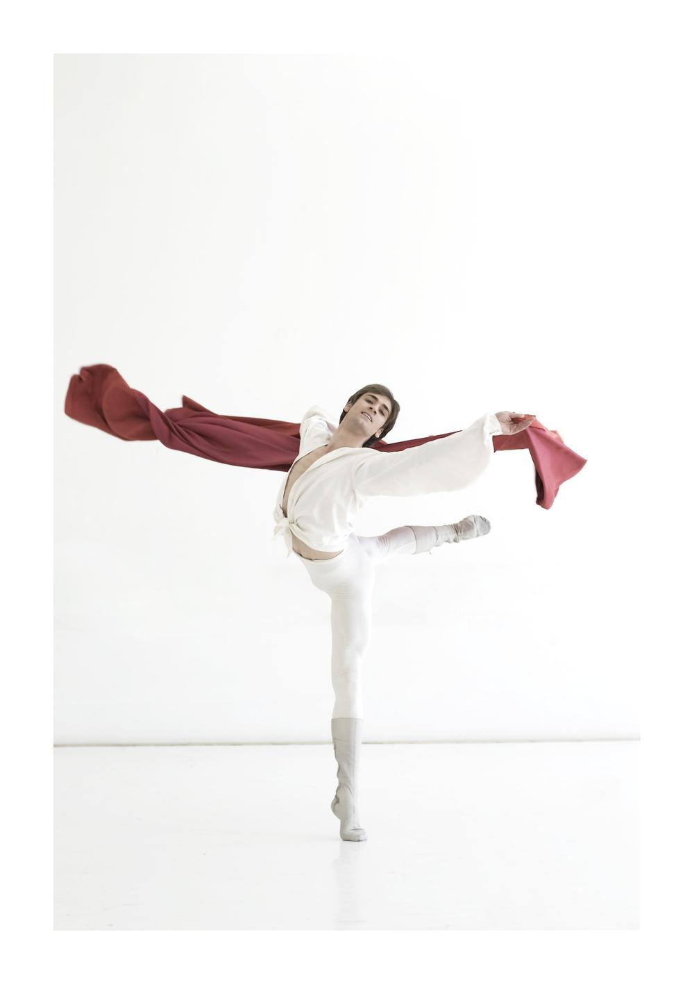 Friedemann Vogel as Romeo