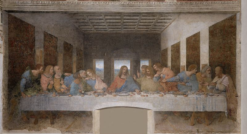 Leonardo da Vinci's ''The Last Supper''