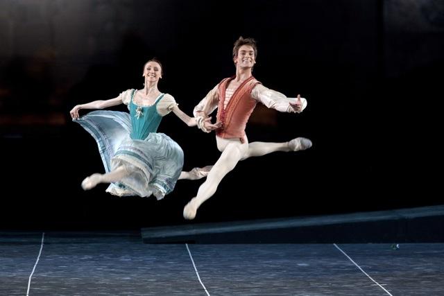 Svetlana Zakharova and Friedemann Vogel Image © Silvia Lelli Teatro dell'Opera di Roma